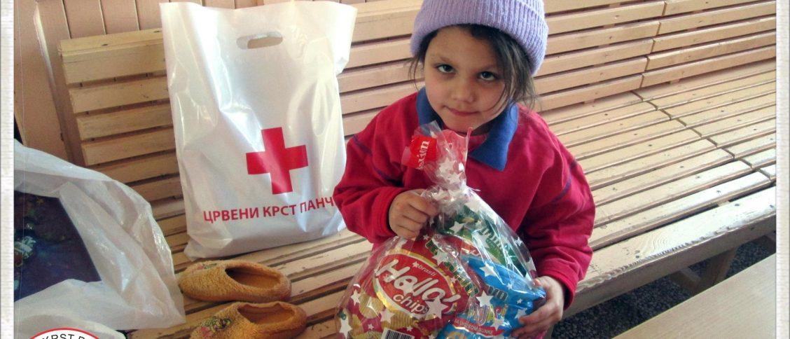 Један пакетић - много љубави - Црвени крст Панчево - Програм социјалне делатности