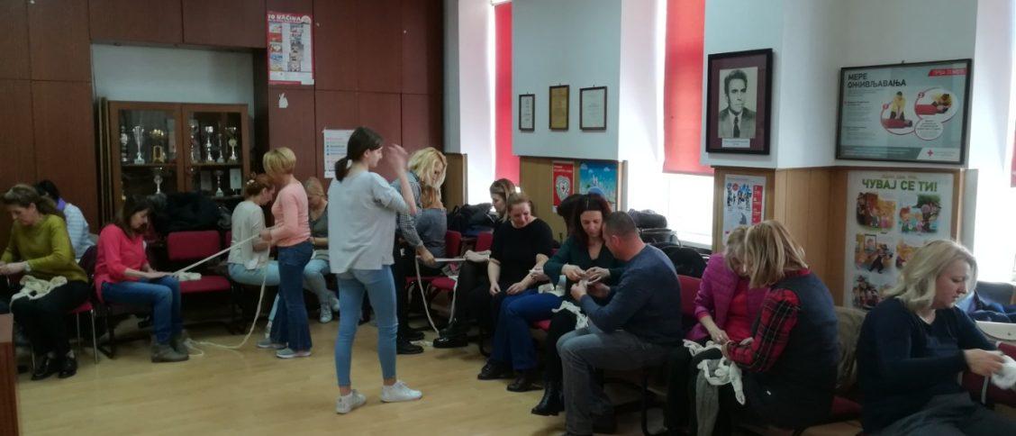 Црвени крст Панчево организује обуке прве помоћи за запослене.