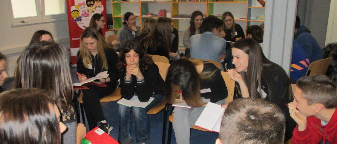 Програм Промоција хуманих вредности у Црвеном крсту Панчево