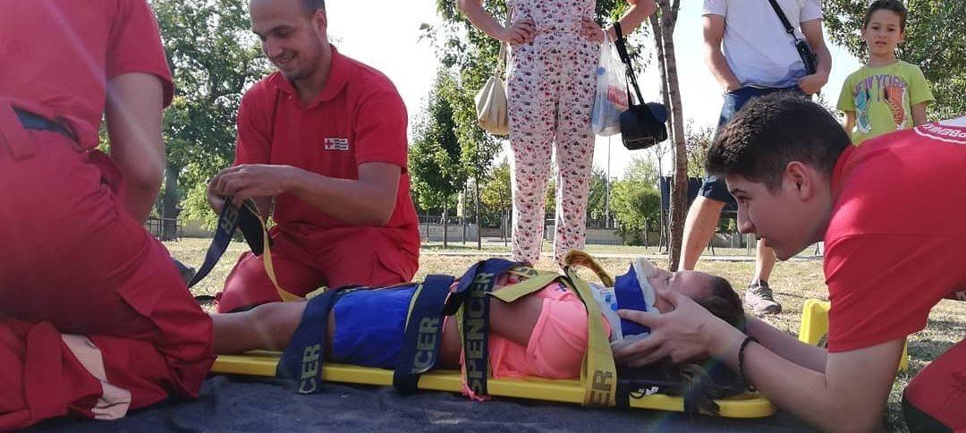 Волонтери Црвеног крста Панчево на програму Прве помоћи