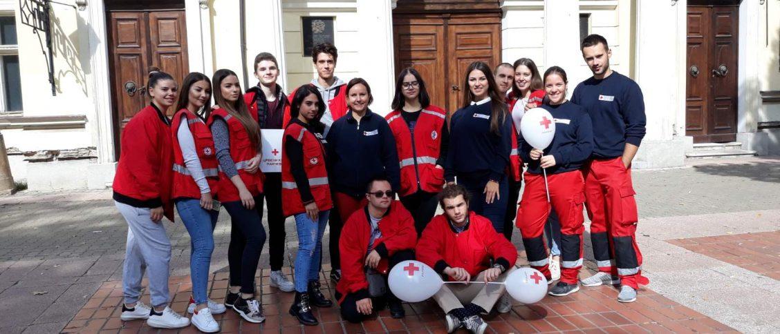 Волонтери Црвеног крста Панчево су носиоци многобројних активности.